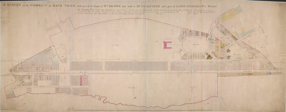 Survey of the District of Hans Town